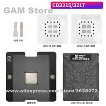 Magnet-Base Platform Location Ic-Chip Reballing-Set Bga-Stencil Soldering-Plate Amaoe