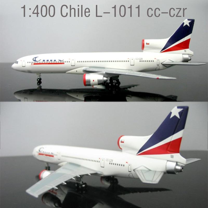 Rare  1:400  Chile L-1011 Cc-czr  Alloy Aircraft Model  Collection Model