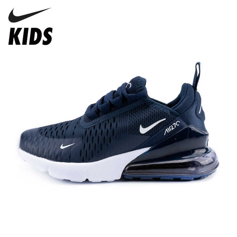 US $50.66 66% OFF Nike Air Max 270 Original Kids Running Shoes Air Cushion Red Sports Outdoor Sneakers #943345 005 in Sneakers from Mother & Kids on