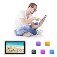 Tablet Android 4.4 Quad Core Q88 Kids PAD7 Inch Android 4GB RAM 512M ROM Tablet PC GPS(China)