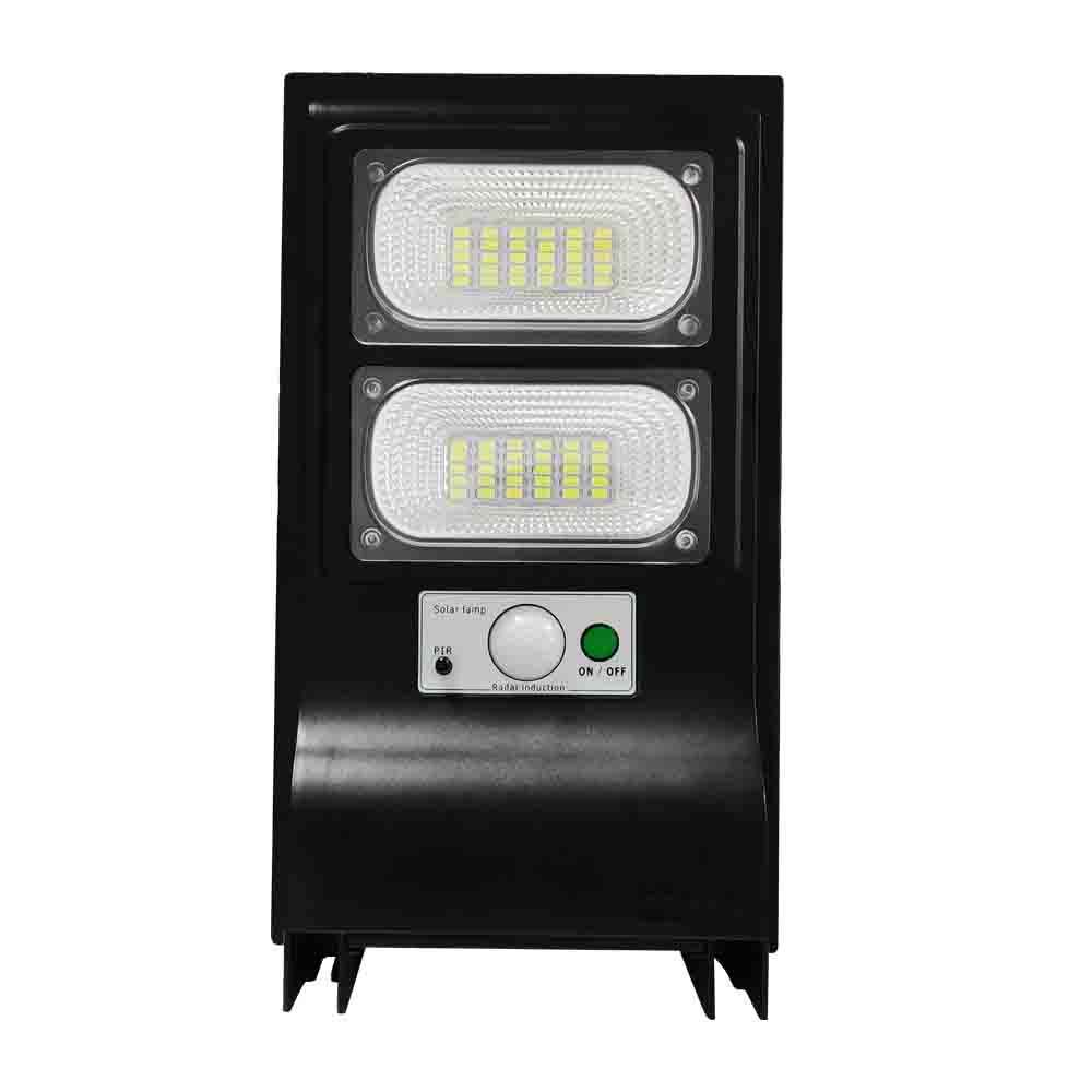 40W Outdoor Wand Lampe Pole Straße Licht Solar Power LED Beleuchtung 3 Modi Motion Sensor + Fernbedienung