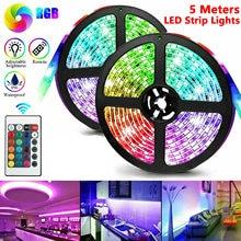 Светодиодная лента 1 м/2 м/3 м/4 м/5 м водонепроницаемая светодиодная