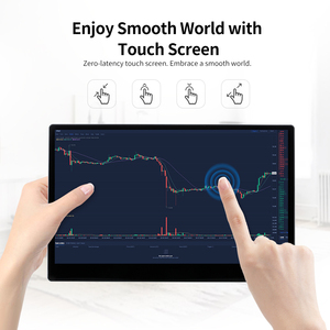 Image 3 - Arealer Touch Screen Portable Monitor 12.5 LED Monitor HD 1080P Expansion Screen Portable Monitor for Switch/PS4/XBOX ONE/PC