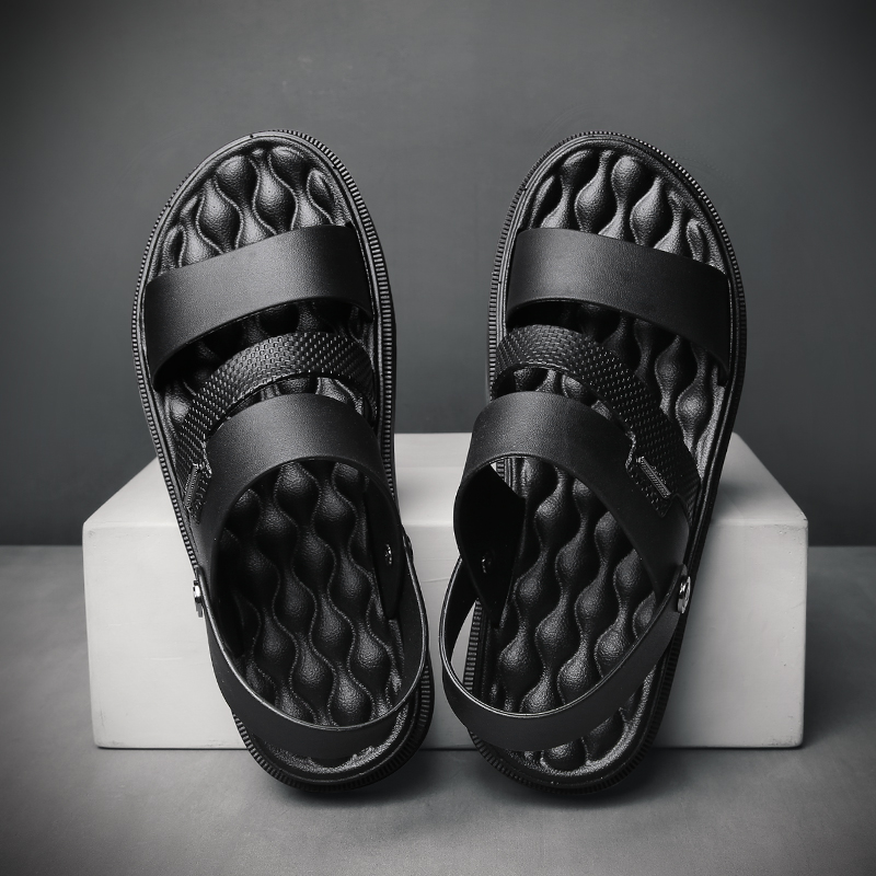 Summer Beach Shoes Men's Sandal 2020 Outdoor Flip Folps Sneakers Men Sandals Shoes Soft Bottom Male Roman Sandalias Hombre
