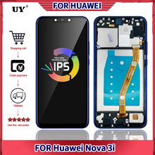 6.3'' Original Screen For Huawei Nova 3i LCD Display For Nova3i Display With Frame Touch Screen UY Replacement INE-LX1 Assembly