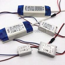 AC 85-265V 1-2x3w 2-4x3w 6-10x3w 10-18x3w 18-30x3w 600mA 650mA LED Sürücü Dönüştürücü Trafo Tavan ışık güç kaynağı