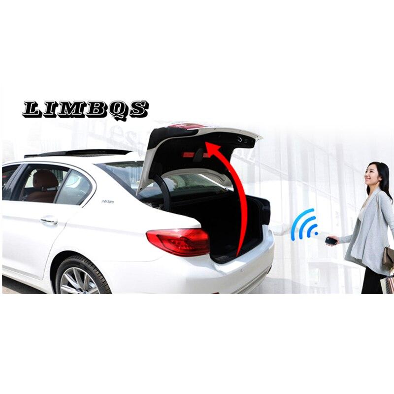 חשמלי דלת תא המטען הותאם עבור BMW f10 f11 5 סדרת זנב תיבת אינטליגנטי חשמלי זנב שער דלת כוח מופעל תא מטען קישוט