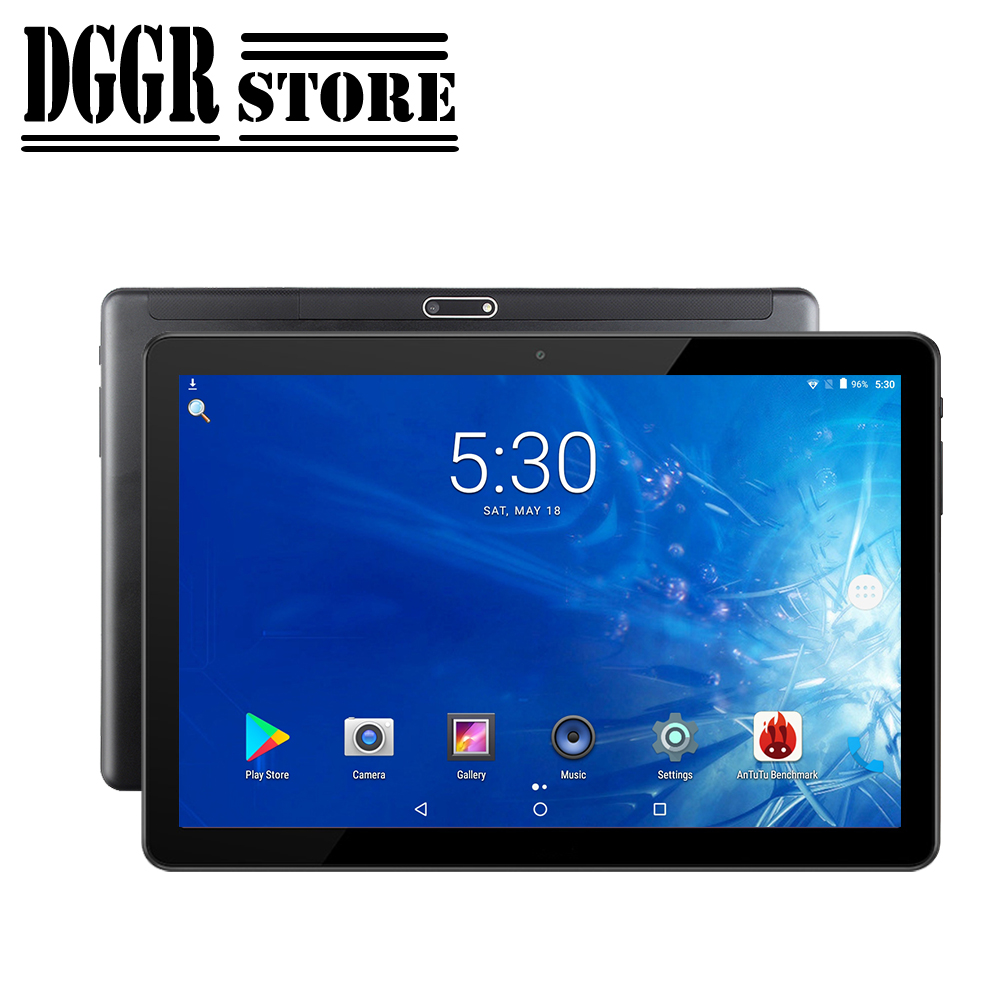 BOBARRY 10.1 Inch Tablet Global Version Android OS Support Google Play Ouad Core RAM 2GB  64GB YouTube Video IPS 1280*800