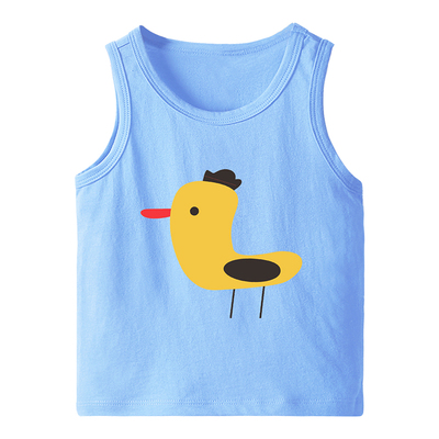 VIDMID Summer Children T-Shirts for Boys Girls T-shirt Kids Cotton sleeveless Tanks Baby Tees Kids vests Girls Tops tank 4150 05 4