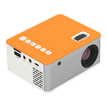 Mini Portable Video Projector LED Movie Projector Home Theater 1080P Supported 110Inch