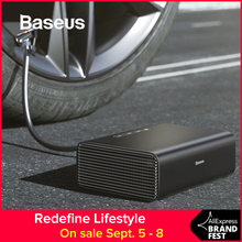 Baseus Intelligent Car Air Compressor Tire Inflatable Pump 12V Portable Auto Tyre Inflator for Car Tires все цены