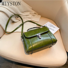купить 2019 New Autumn Shoulder Bag PU Leather Messenger Bag Ladies Casual Handbag Leisure Personality Small Square Women Bag по цене 1163.89 рублей