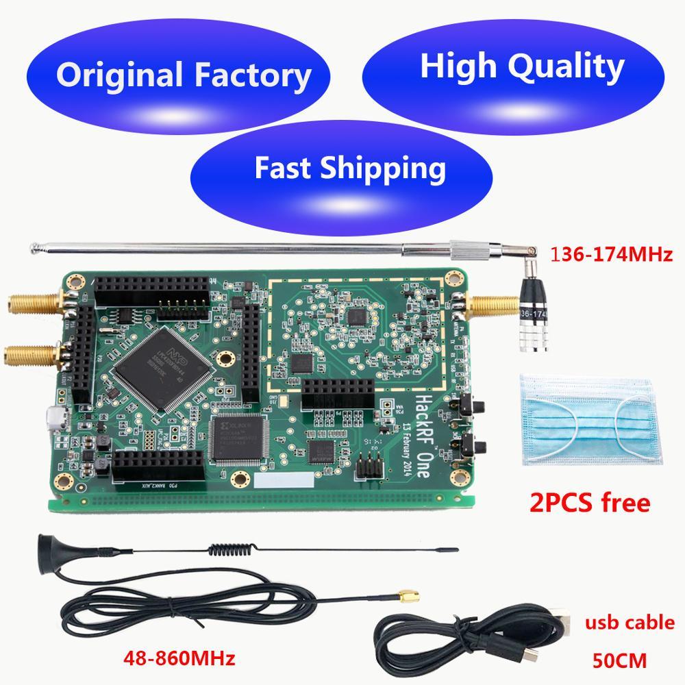 HackRF One 1 MHz - 6 GHz SDR Hackrf Platform Hacking An Open Source Software Defined Radio Development Board