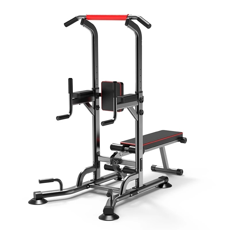 Multifunctional Single Parallel Bar Training Fitness Equipment Household Supine Board Adjustable Height Gym Weight Bench