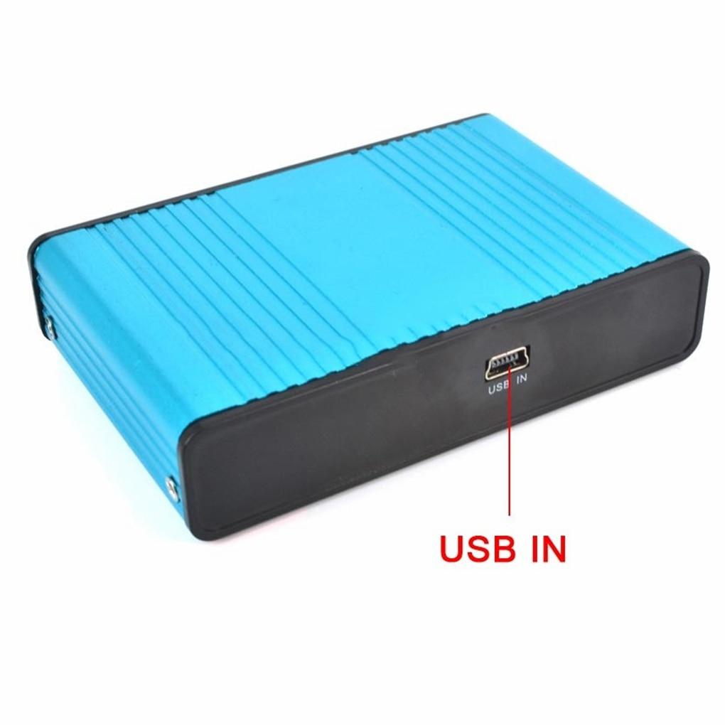 External USB 6 Channel 5.1 / 7.1 Surround External Sound Card PC Laptop Desktop Tablet Audio Optical Adapter Card Converter 4