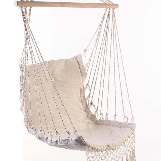 Outdoor Camping Hammock Chair Bedroom Yard Swing Bed Home Garden Indoor Hanging Chair Hammock for Child Adult 3