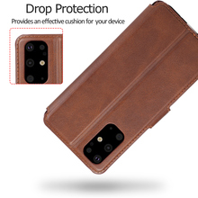Flip Leather Wallet Case For Samsung Galaxy Phone
