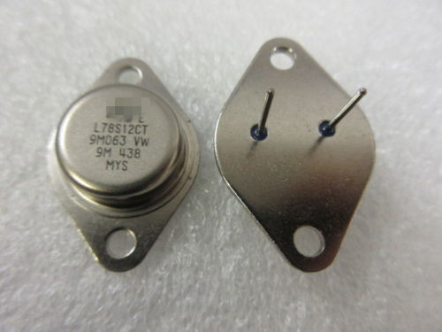 2pcs/lot L78S12CT 2A/12V, Linear Voltage Regulator, TO-3