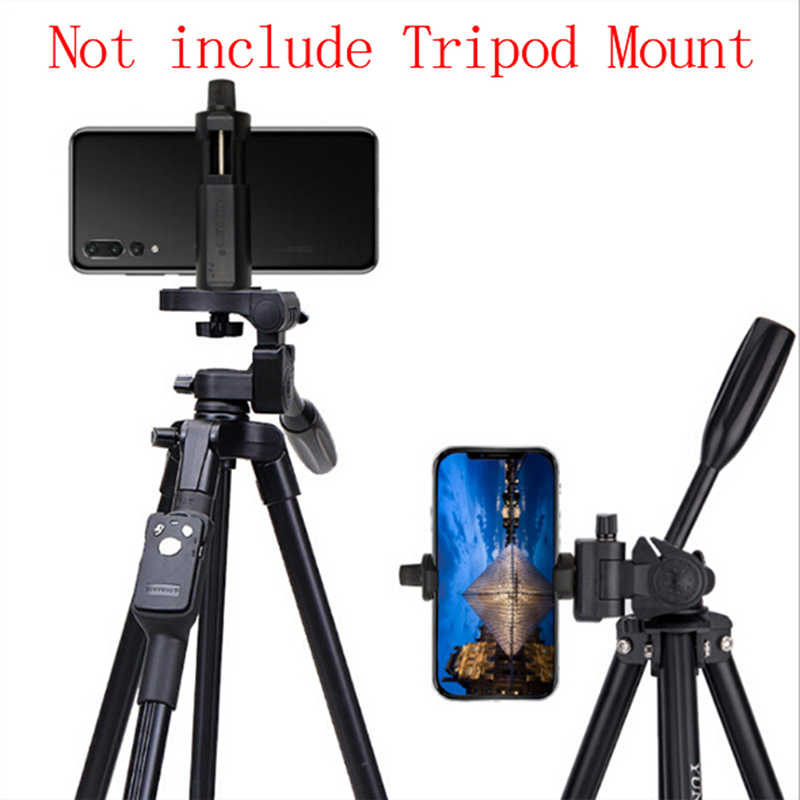Mobile Phone Clip Holder Tripod Mount Stand Adapter for Mobile Phone Camera