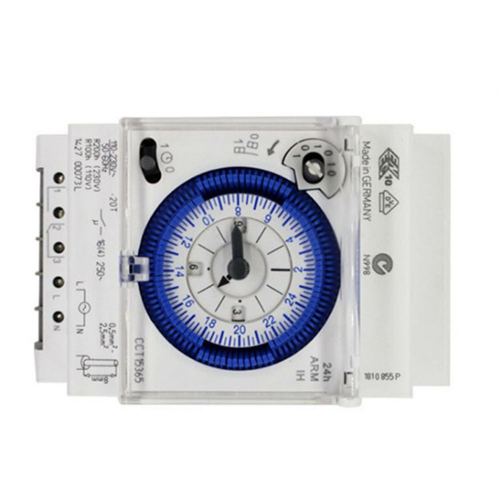 Analog Mechanical Timer Switch 110V-220V 24 Hours Daily Programmable UK Mechanical Timer Timer Timer Control