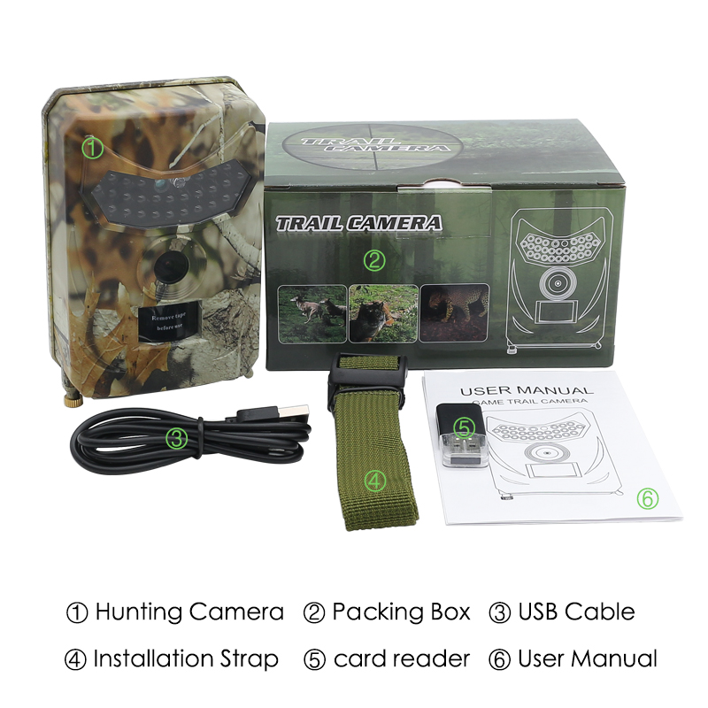 Външна ловна водоустойчива HD камера - На лов - Снимка 4