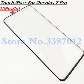 10Pcs/lot Front Glass For Oneplus 7 Pro One Plus 7 Pro Oneplus7 Pro Touch Screen LCD Outer Panel Lens Repair Replacement Part