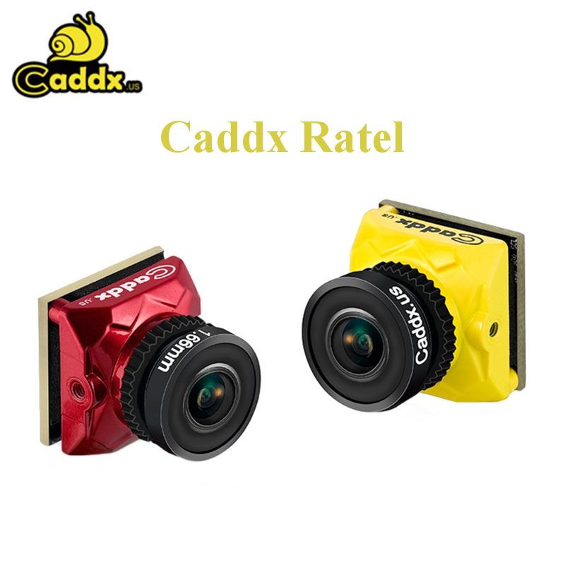 Caddx Ratel 1/1.8'' Starlight HDR OSD 1200TVL NTSC/PAL 16:9/4:3 Switchable 1.66mm Lens FPV Camera For RC Drone
