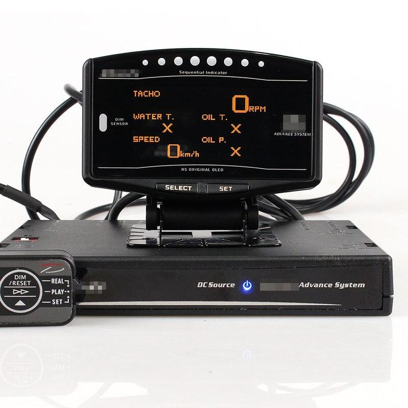 Jauge automatique DEFI Advance ZD 10 in1 Defi style link DF09701 DF09703 ensemble sport tachymètre numérique Kit complet BF CR C2 mètre