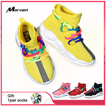 Kids Shoes Non-slip Line surface Baby Toddler Shoes Soft Comfortable Children Sneakers Fashion Boy Girl Travel Shoe