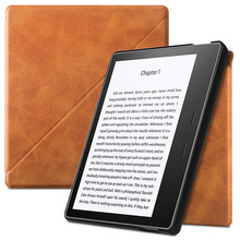 BOZHUORUI Case For Kindle Oasis 2 eReader (9th Generation-2017 Release) - Premium PU Leather Stand Cover with Auto Wake/Sleep