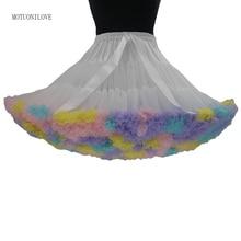 50-х годов ретро Хэллоуин Петтикот underskirt бальное платье качели Паффи короткое платье Лолита косплей балетной юбка рокабилли Туту