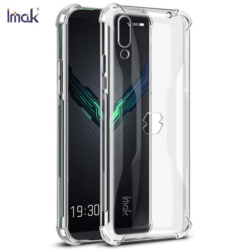 6.39'' Black Shark2 Crystal Case Black Shark 2 Case IMAK Clear Silicon TPU Cover for Funda Xiaomi BlackShark 2 Case BlackShark2
