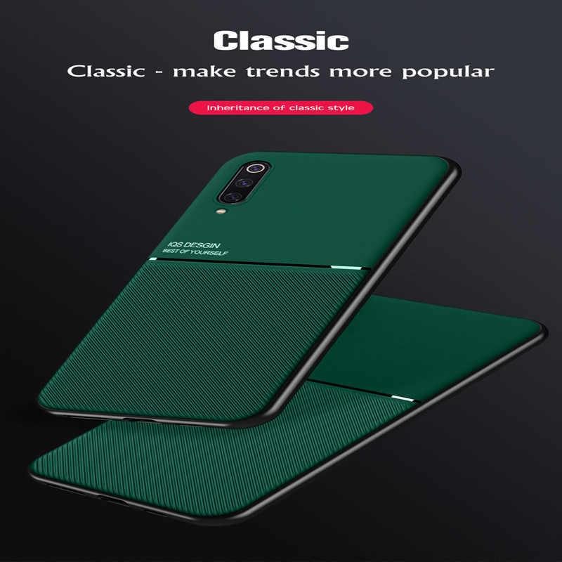Luxe Silicon Magnetische Auto Houder Case Voor Xiaomi Redmi Note 9 8 7 8T Pro K30 K20 8A 7A mi 10 Note 10 9T Pro 8 Lite Soft Cover