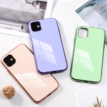 soft shell TPU Case Plating Cover For iPhone11 XS Max iPhone X Phone Case Luxury Hard Coque With Logo For phone 11 case 1