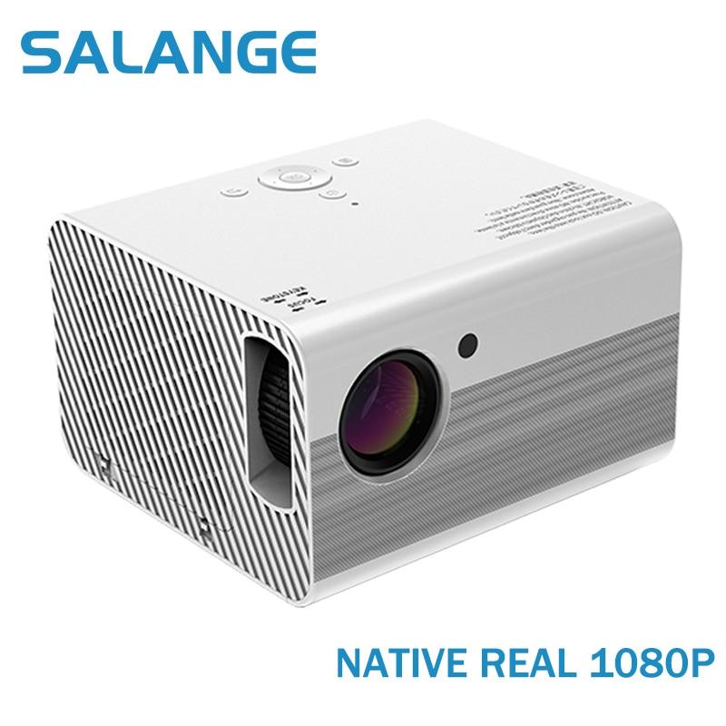 Salange T10 Full HD 1080P проектор мини светодиодный проектор Родной 1920x1080 4000 люмен андроид проектор для домашнего Театр видео проектор