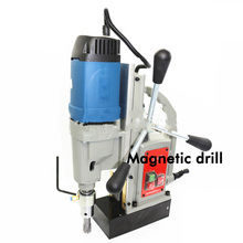 Multifunction  Magnetic Block Drilling J1C-FF-23 Desktop Drill Hole Electric Magnetic Drill  Can Be Used for Drill Bit