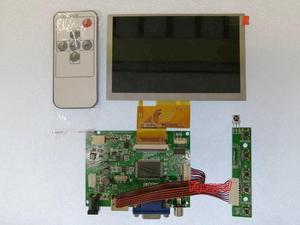 Yqwsyxl HDMI+VGA 2AV LCD Controller Board Work for 5inch 800x480 50pin EJ050NA EJ050NA-01G EJ050NA 01G LCD Display Screen