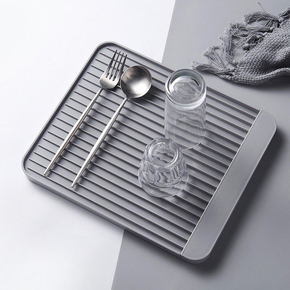 Столовая чашка противоскользящая дисковая дренажная доска домашняя чаша сушильный коврик стеллаж для хранения кухня Diatom грязевой сливной лоток ресторанное блюдо