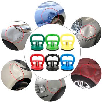 Zestaw do naprawy samochodu Mini Car Dent Remover ściągacz Auto Body Dent Removal Tools silna przyssawka akcesoria samochodowe maksymalne obciążenie 15KG TSLM2 tanie i dobre opinie JOSHNESE circular