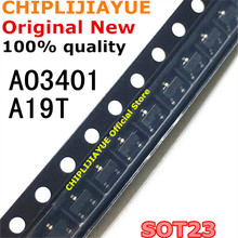 100PCS AO3401 SOT23 A19T SOT-23 SOT23-3 SMD New and Original IC Chipset