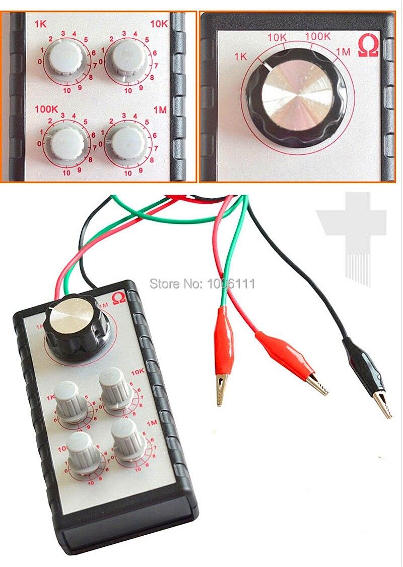 24V Automobil-Sensor-Signal-Simulator Schaltung Wartung Diagnose Werkzeug Einstellbaren Widerstand Signal Simulator Stick Box