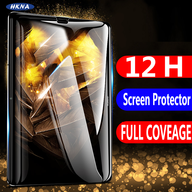 Tempered Glass For Huawei MediaPad M5 Lite Pro M6 10.8 8.4 M3 Lite 10.1 8 12D Curved Edge Screen Protector For MediaPad T5 T3 10