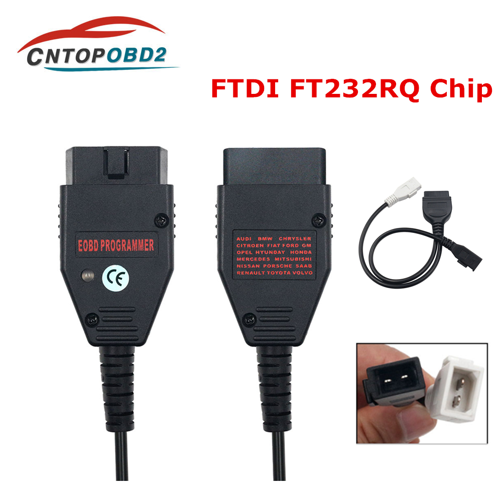 Galletto 1260 ECU Chip Tuning Tool EOBD OBD2 Flasher ECU Flasher With FTDI FT232RL OBDII Engine Tuning For AUDI/VW/Seat/Skoda