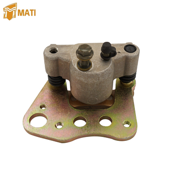 For ATV Polaris ATP Magnum 330 500 Sportsman X2 400 450 500 600 700 800 INTL Left Front Brake Caliper Assembly with Pads 1910841 for atv polaris atp magnum 330 500 sportsman x2 400 450 500 600 700 800 intl left front brake caliper assembly with pads 1910841