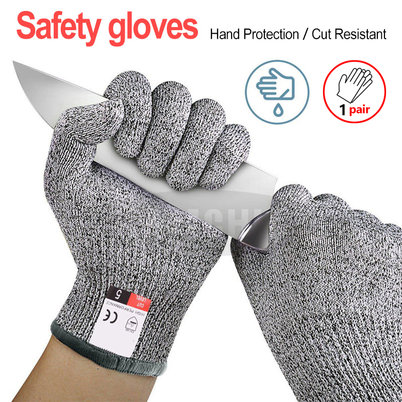 Cut Resistant Gloves For  Fish Meat Cutting Safety Gloves High-strength Grade Level 5 Protection Safety Anti Cut Gloves Kitchen