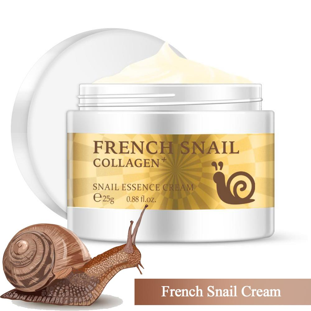 Health Snail Cream Hyaluronic Acid Moisturizing Anti Wrinkle Anti Aging Nourishing Serum Collagen Day Cream Repair Dry Skin Care