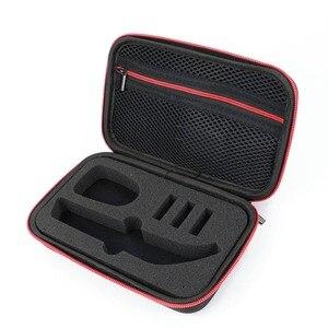Image 4 - Besegad estojo de viagem, eva, organizador, aparador de barbeador elétrico, bolsa de armazenamento para philips oneblade pro qp 150 6520 6510