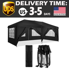 Tent Picnic Outdoor Pavilion Folding Shed Anti UV Waterproof Instant Shelter Camping Garden Awning Canopy Sunshade Waterproof