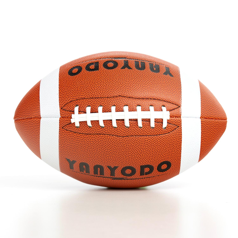 Futebol americano tamanho 9 super grip composto futebol formação & recreação jogar bola de futebol americano para a juventude