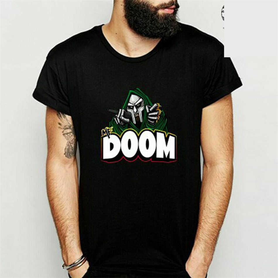 Neu T Camicia Grobe S Per 3Xl Mf Doom Poster Rap Hip Hop Music Band Uomo Nero di Estate Tee Shirt